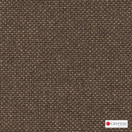 CRYP342 'Cocoa' | Upholstery Fabric - Brown, Plain, Synthetic fibre, Commercial Use