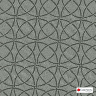 Crypton Trivia Mist  | Upholstery Fabric - Grey, Asian, Circlelink, Synthetic fibre, Commercial Use, Chinoiserie - Chinoise