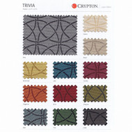 CRYP361 'Pine' | Upholstery Fabric - Grey, Circlelink, Midcentury, Synthetic fibre, Commercial Use
