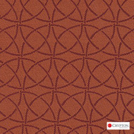 CRYP363 'Tangerine' | Upholstery Fabric - Asian, Circlelink, Synthetic fibre, Commercial Use, Chinoiserie - Chinoise