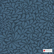 CRYP366 'Bluebell' | Upholstery Fabric - Blue, Craftsman, Floral, Garden, Pattern, Synthetic fibre, Commercial Use