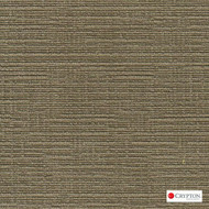 Crypton Veldt Sepia  | Upholstery Fabric - Green, Plain, Synthetic, Commercial Use