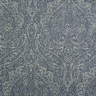 WIIT35 'Indigo' | Upholstery Fabric - Blue, Damask, Synthetic fibre, Traditional, Domestic Use