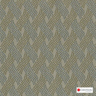 CRYP395 'Haze' | Upholstery Fabric - Green, Basketweave, Midcentury, Synthetic fibre, Commercial Use