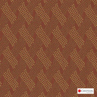 CRYP397 'Pumpkin' | Upholstery Fabric - Basketweave, Midcentury, Synthetic fibre, Commercial Use