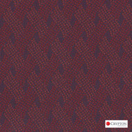 CRYP400 'Sweetheart' | Upholstery Fabric - Basketweave, Midcentury, Synthetic fibre, Pink - Purple, Commercial Use
