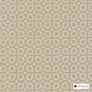 CRYP414 'Taupe' | Upholstery Fabric - Diaper, Foulard, Linen and Linen Look, Midcentury, Small Scale, Synthetic fibre, Tan - Taupe, Commercial Use