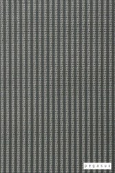 Pegasus Trace - Glade    Curtain Fabric - Grey, Natural Fibre, Stripe, Traditional, Washable, Domestic Use, Dry Clean, Natural, Top of Bed, Standard Width