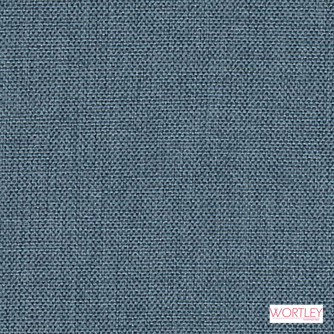 Wortley Group Access Denim  | Upholstery Fabric - Blue, Plain, Synthetic, Commercial Use
