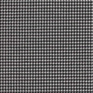 WIIT264 'Ebony' | Upholstery Fabric - Black, Fiber blend, Foulard, Small Scale, Traditional, Black - Charcoal, Domestic Use, Houndstooth