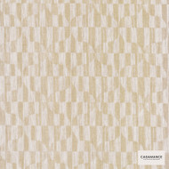 Casamance - Suzanne 3937 03 85 A3937 03 85  | Curtain & Upholstery fabric - Gold,  Yellow, Midcentury, Natural Fibre, Ogee, Commercial Use, Domestic Use, Natural, Oeko-Tex