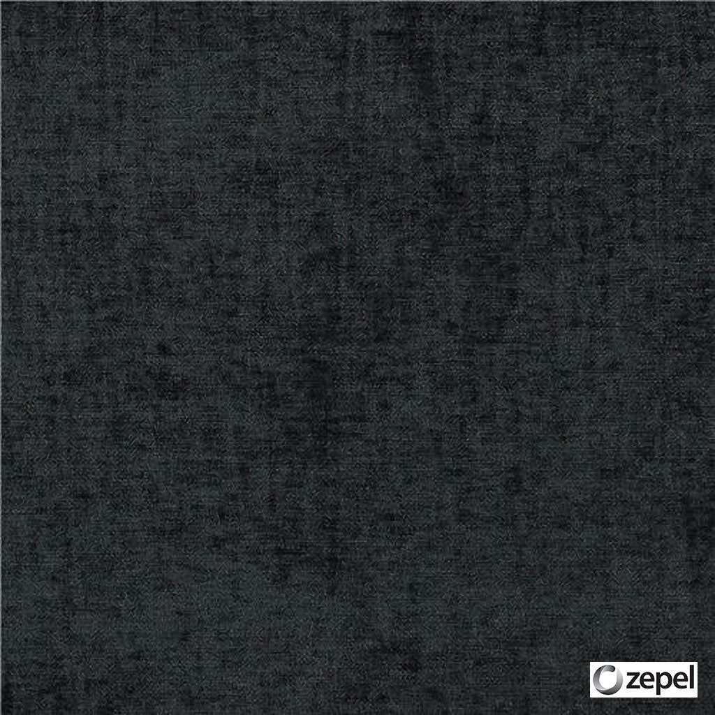 Zepel Fabrics - Super Caviar  | Upholstery Fabric - Plain, Black - Charcoal, Synthetic, Commercial Use, Domestic Use, Oeko-Tex, Oeko-Tex, Standard Width