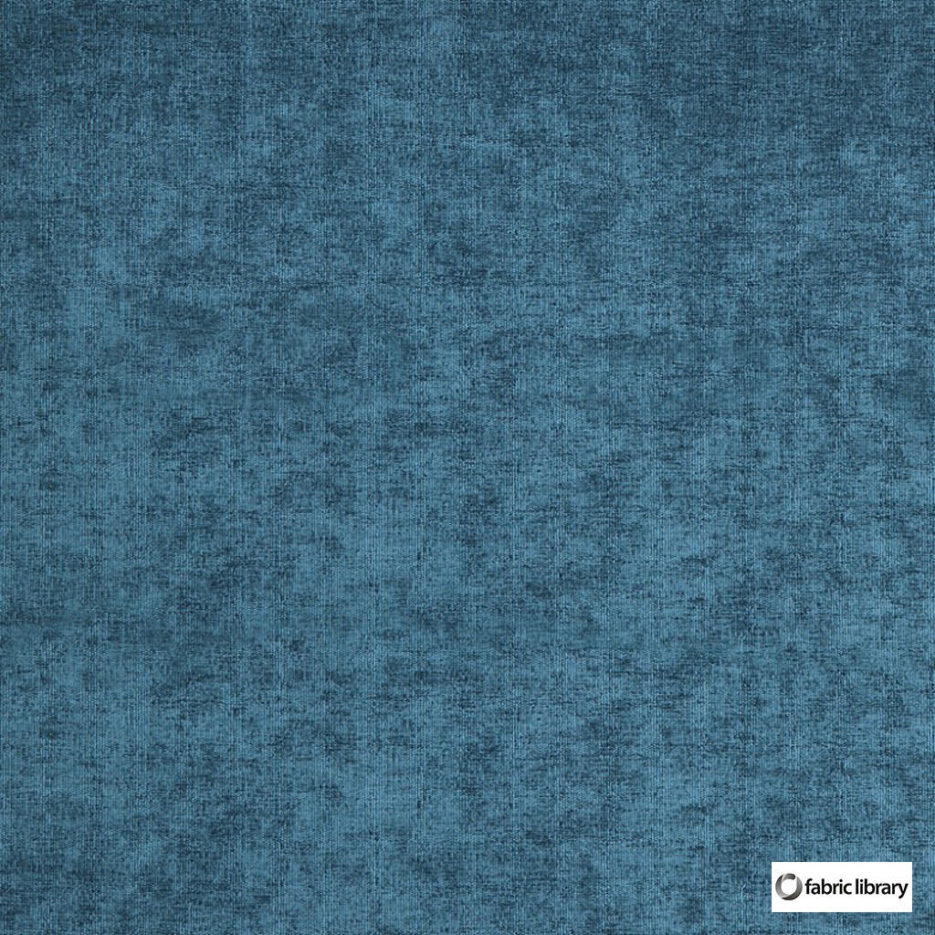 Fabric Library - Restful Beetle  | Upholstery Fabric - Blue, Plain, Synthetic, Commercial Use, Standard Width