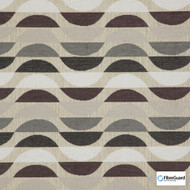 FibreGuard - Ocean Drive Marble  | Upholstery Fabric - Brown, Geometric, Synthetic, Commercial Use, Standard Width