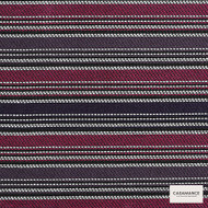 Casamance - Porto - Vecchio 3226 03 52  | Curtain & Upholstery fabric - Burgundy, Stripe, Synthetic, Commercial Use, Standard Width