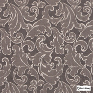 Fabric Library - Ambiente Beluga  | Curtain & Upholstery fabric - Brown, Art Noveau, Fibre Blends, Floral, Garden, Commercial Use, Domestic Use, Standard Width, Rococo