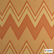 UV Pro Fabrics - Interior Copper  | Curtain & Upholstery fabric - Geometric, Outdoor Use, Synthetic, Chevron, Zig Zag, Commercial Use, Oeko-Tex, Oeko-Tex, Standard Width