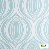 UV Pro Fabrics - Original Fountain  | Curtain & Upholstery fabric - White, Ogee, Outdoor Use, Synthetic, Commercial Use, Oeko-Tex, White, Oeko-Tex, Standard Width