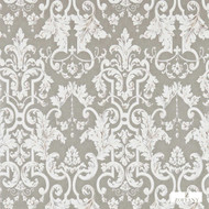 Zoffany Marmorino 312034  | Wallpaper, Wallcovering - Grey, Damask, Eclectic, Traditional, Domestic Use, Semi-Plain