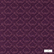 331954 '' | Curtain & Upholstery fabric - Fire Retardant, Damask, Eclectic, Fiber blend, Traditional, Pink - Purple, Domestic Use, Suitable for Blinds