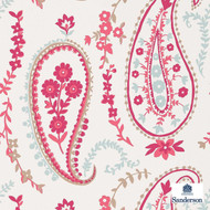215434 '' | - Fire Retardant, Craftsman, Eclectic, Floral, Garden, Mediterranean, Paisley, Pink - Purple, Domestic Use