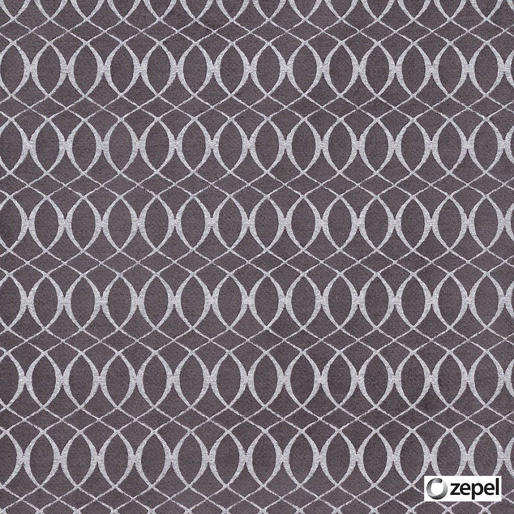 Zepel Fabrics - Meander Mulberry  | Curtain & Upholstery fabric - Fibre Blends, Geometric, Ogee, Pink, Purple, Commercial Use, Domestic Use, Oeko-Tex, Oeko-Tex, Standard Width