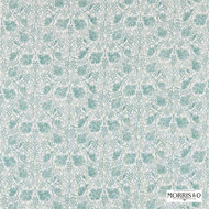Morris and Co - Grapevine 224474  | Curtain & Upholstery fabric - Green, Craftsman, Damask, Fibre Blends, Floral, Garden, Traditional, Domestic Use, Standard Width
