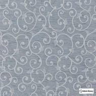 Fabric Library - Sweetness Silver  | Curtain & Upholstery fabric - Grey, Floral, Garden, Synthetic, Commercial Use, Domestic Use, Standard Width