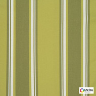 UV Pro Fabrics - Bermuda Pesto  | Curtain & Upholstery fabric - Outdoor Use, Stripe, Synthetic, Traditional, Commercial Use, Oeko-Tex, Oeko-Tex, Standard Width