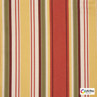UV Pro Fabrics - Reef Arabesque  | Curtain & Upholstery fabric - Multi-Coloured, Outdoor Use, Stripe, Synthetic, Traditional, Commercial Use, Oeko-Tex, Oeko-Tex