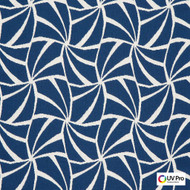 UV Pro Fabrics - Solace Wind  | Curtain & Upholstery fabric - Blue, Check, Geometric, Outdoor Use, Synthetic, Commercial Use, Oeko-Tex, Oeko-Tex, Standard Width, Mosaic