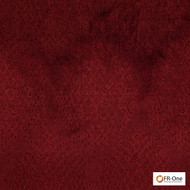 FR-One Fabrics - Gilda FR Ruby  | Curtain & Upholstery fabric - Fire Retardant, Red, Synthetic, Commercial Use, Domestic Use, Jacquards, Oeko-Tex, Oeko-Tex, Standard Width