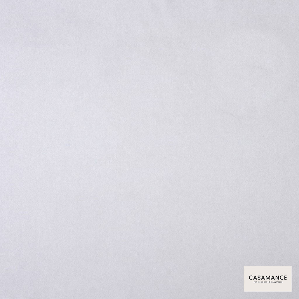 Casamance - Gala 3358 07 32  | Curtain & Upholstery fabric - Plain, White, Synthetic, Commercial Use, White, Wide Width