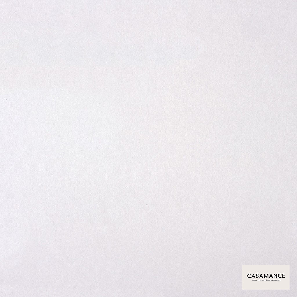 Casamance - Gala 3358 08 34  | Curtain & Upholstery fabric - Plain, White, Synthetic, Commercial Use, White, Wide Width