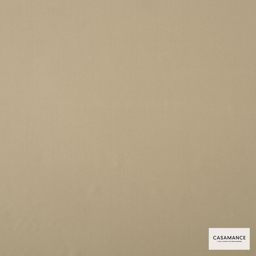 Casamance - Gala 3358 10 38  | Curtain & Upholstery fabric - Beige, Plain, Synthetic, Commercial Use, Wide Width