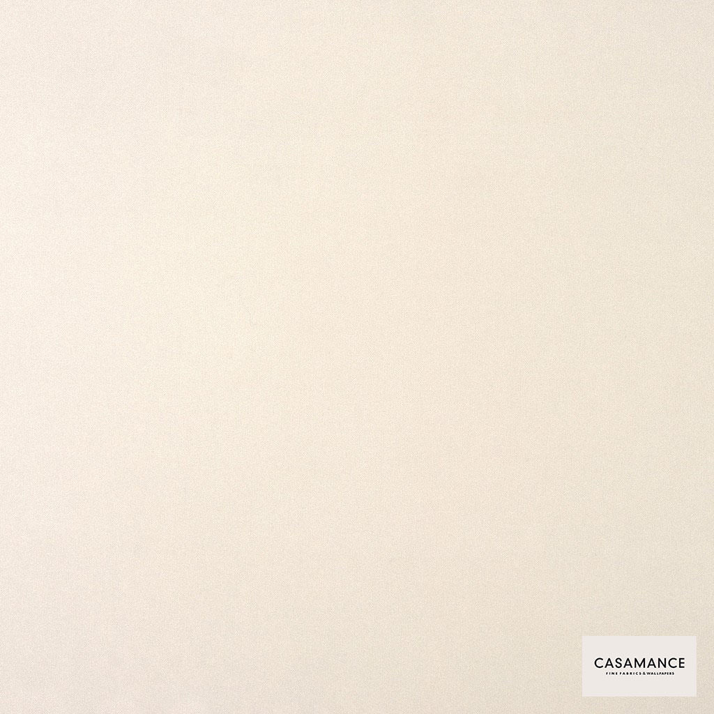 Casamance - Gala 3358 09 36  | Curtain & Upholstery fabric - Plain, White, Synthetic, Commercial Use, White, Wide Width