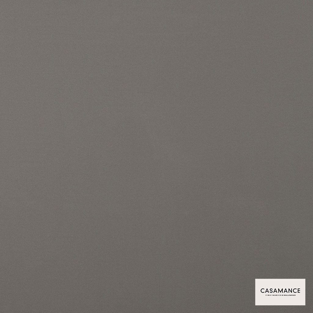 Casamance - Gala 3358 02 22  | Curtain & Upholstery fabric - Grey, Plain, Synthetic, Commercial Use, Wide Width