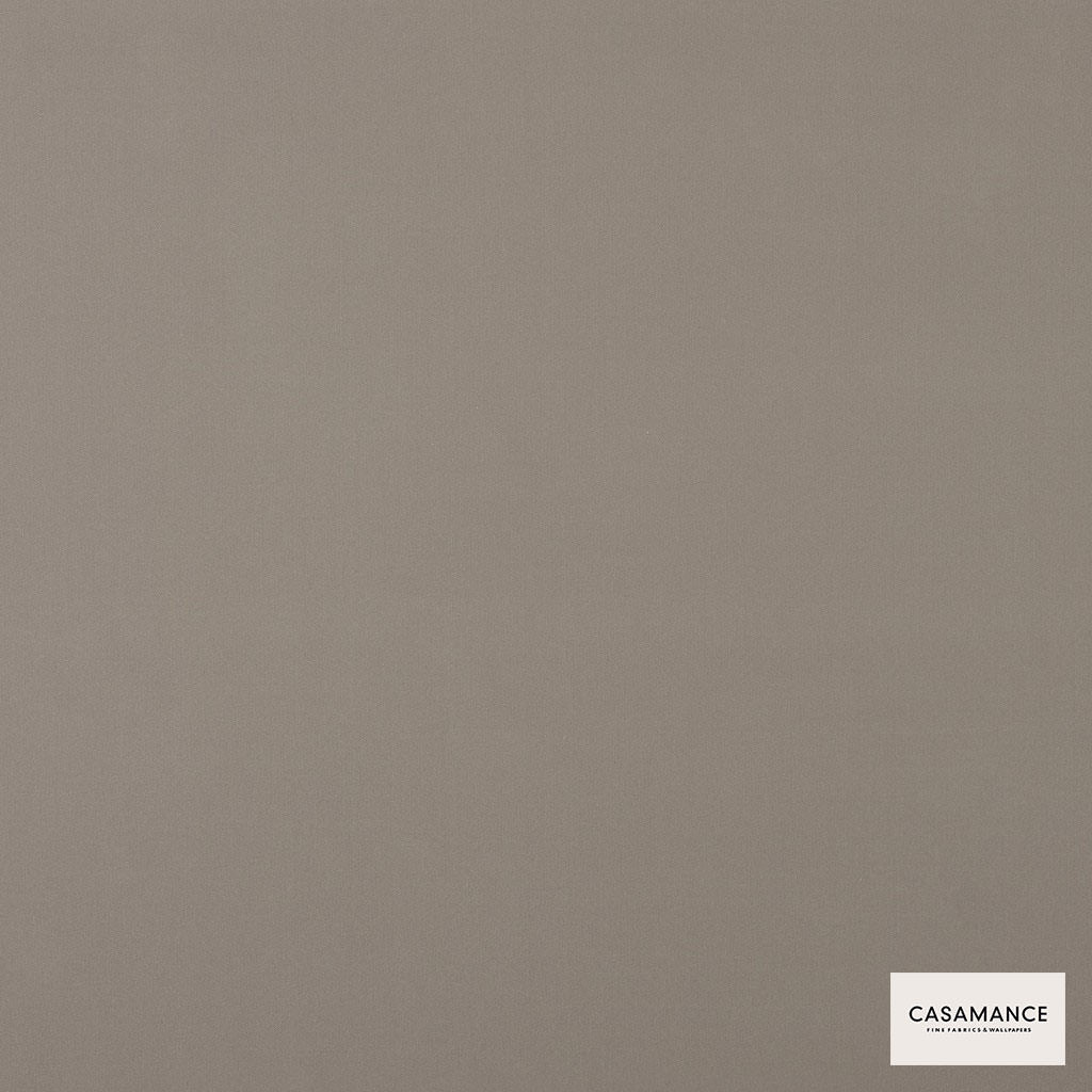 Casamance - Gala 3358 05 28  | Curtain & Upholstery fabric - Grey, Plain, Synthetic, Commercial Use, Wide Width