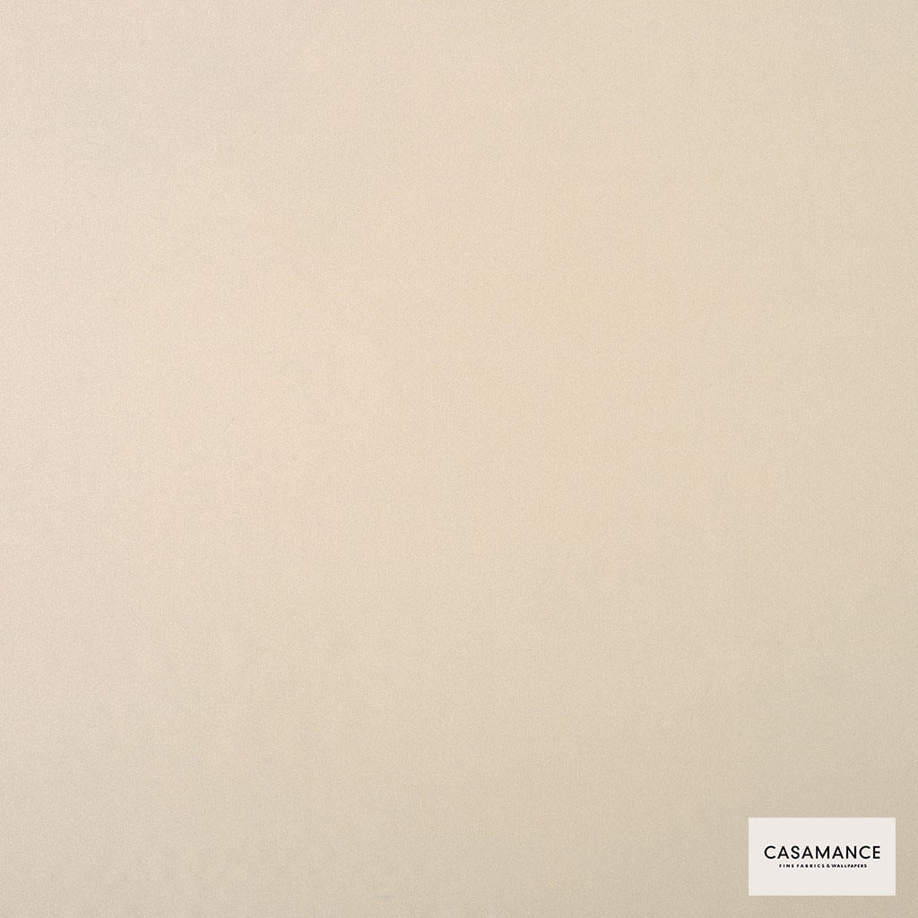 Casamance - Gala 3358 16 50  | Curtain & Upholstery fabric - Plain, White, Synthetic, Commercial Use, White, Wide Width