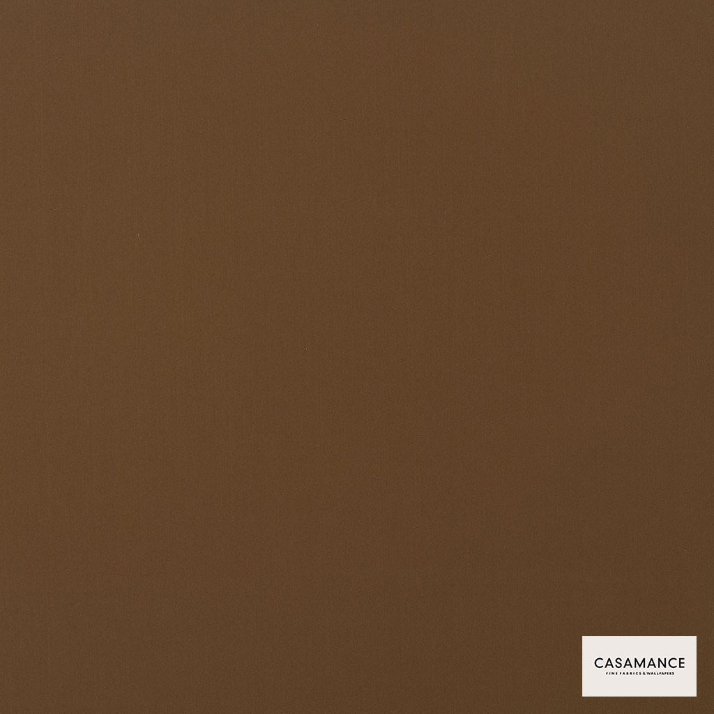 Casamance - Gala 3358 19 56  | Curtain & Upholstery fabric - Brown, Plain, Synthetic, Commercial Use, Wide Width