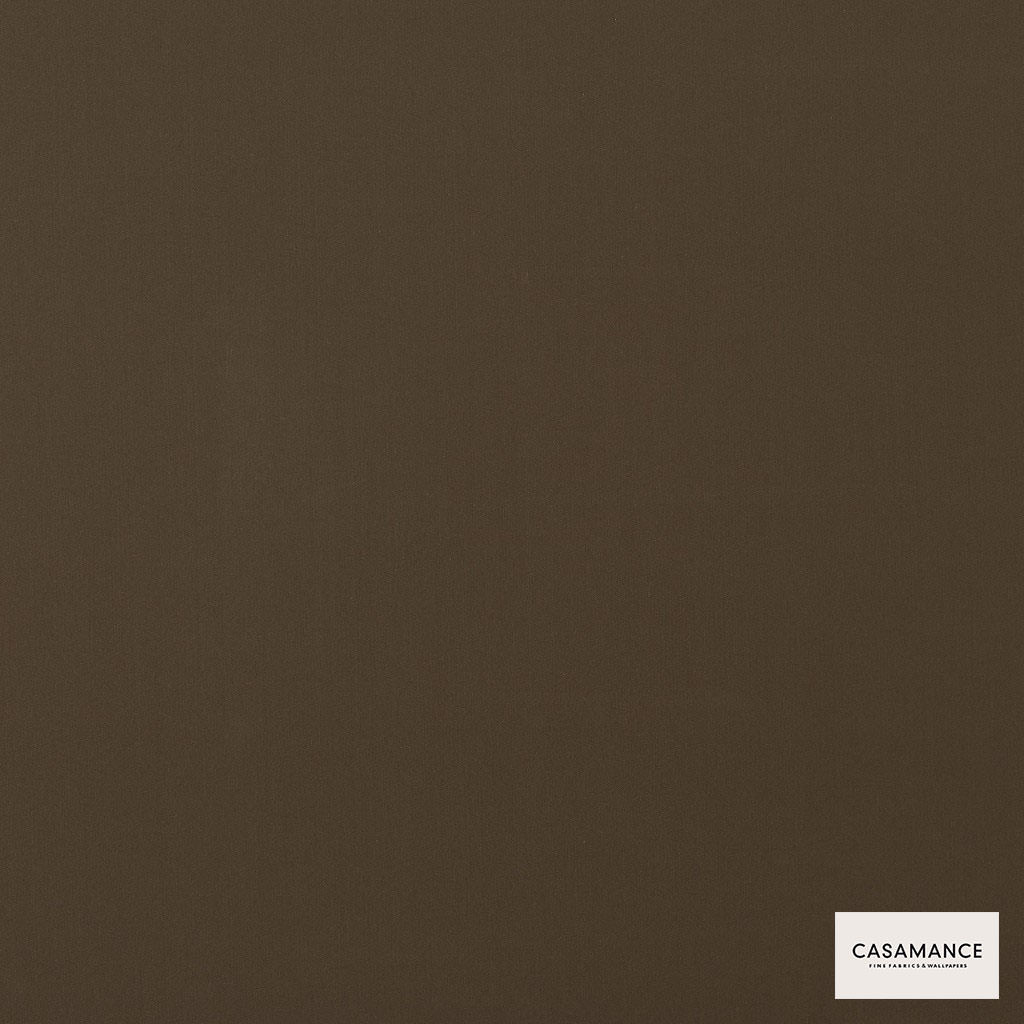 Casamance - Gala 3358 12 42  | Curtain & Upholstery fabric - Brown, Plain, Synthetic, Commercial Use, Wide Width