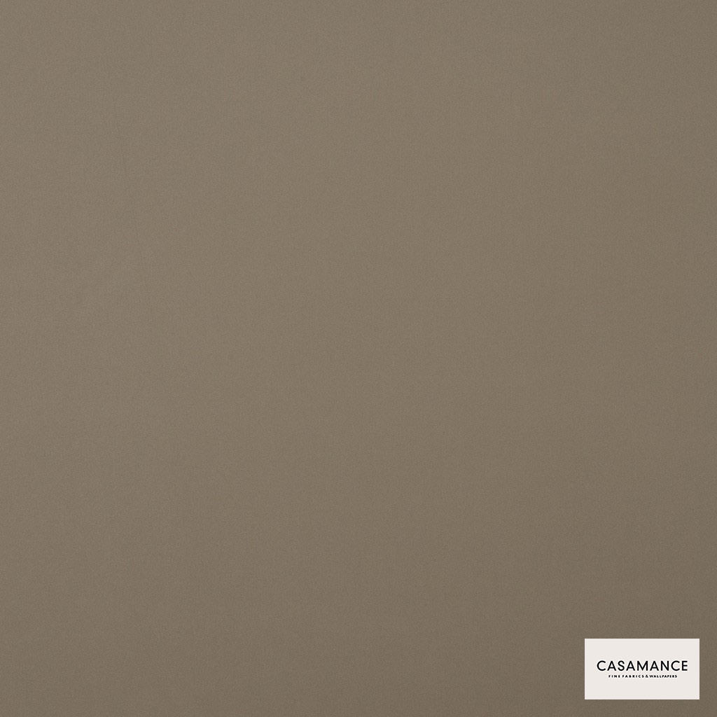 Casamance - Gala 3358 11 40  | Curtain & Upholstery fabric - Plain, Synthetic, Tan, Taupe, Commercial Use, Wide Width