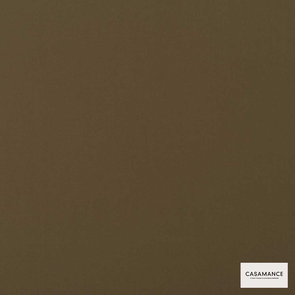 Casamance - Gala 3358 13 44  | Curtain & Upholstery fabric - Brown, Plain, Synthetic, Commercial Use, Wide Width