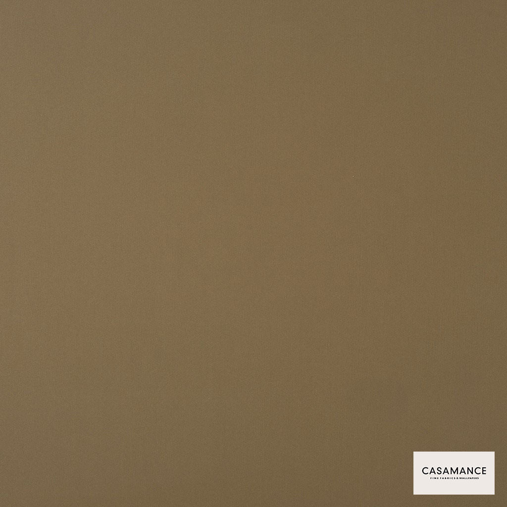 Casamance - Gala 3358 14 46  | Curtain & Upholstery fabric - Brown, Plain, Synthetic, Commercial Use, Wide Width