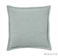 Weave - Austin Cushion - Seafoam (Pack of 2)  | Cusion Fabric - Blue, Plain, Weave