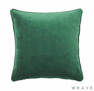 Weave - Zoe Cushion - Forest (Pack of 2)  | Cusion Fabric - Plain, Weave
