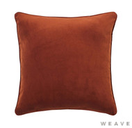 Weave - Zoe Cushion - Copper (Pack of 2)  | Cusion Fabric - Plain, Terracotta, Traditional, Weave