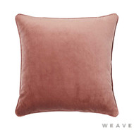 Weave - Zoe Cushion - Blush (Pack of 2)  | Cusion Fabric - Plain, Red, Traditional, Weave