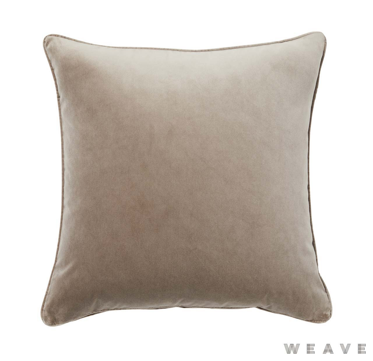 Weave - Zoe Cushion - Truffle (Pack of 2)  | Cusion Fabric - Beige, Plain, Weave