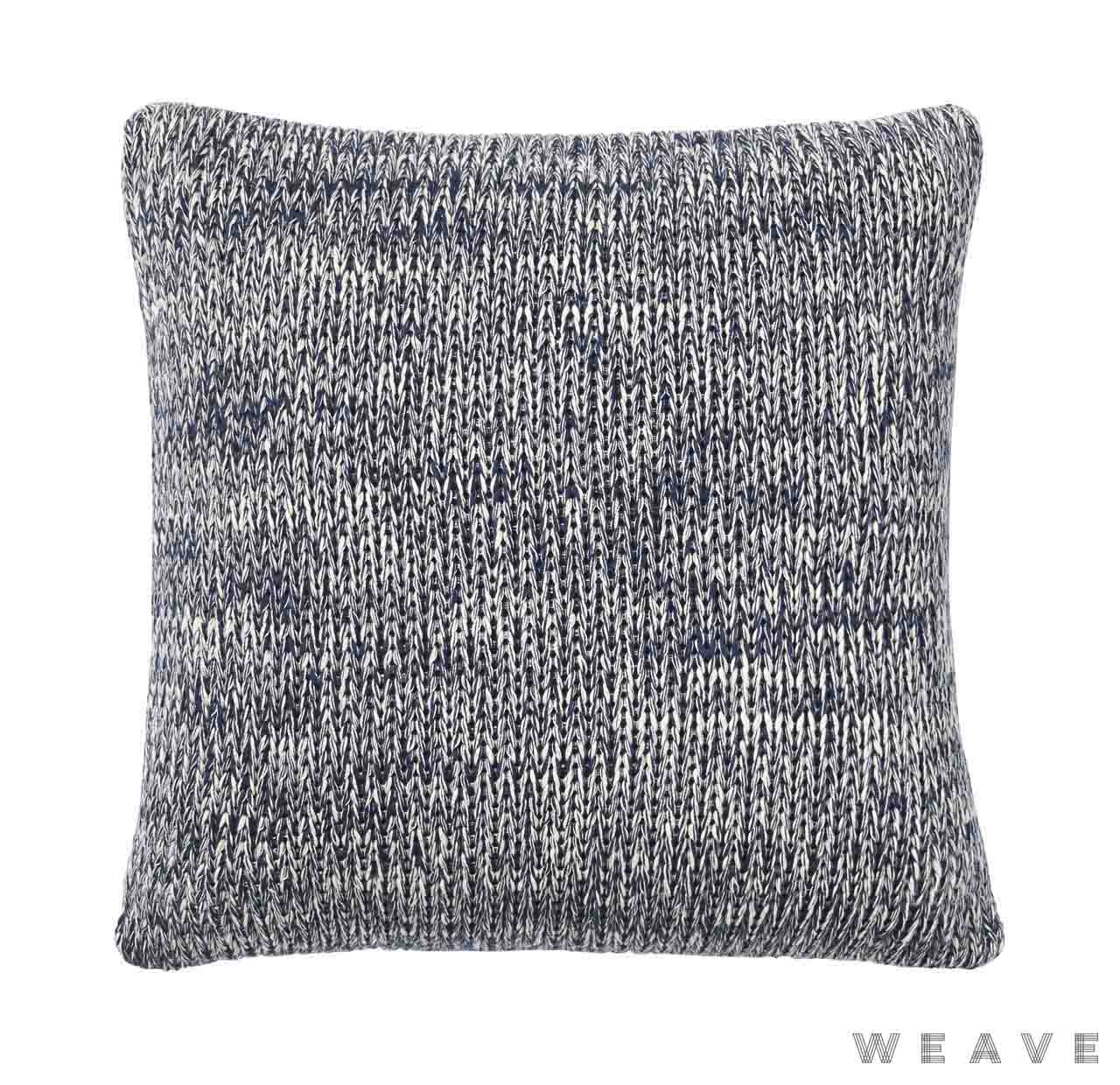 Weave - Monterey Cushion - Pigment (Pack of 2)    Cusion Fabric - Black - Charcoal, Weave